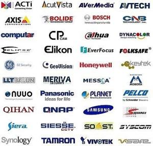 Marcas de camaras WIFI, IP y DVR